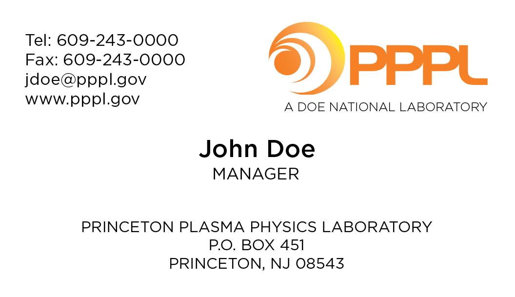 Logos - Princeton Plasma Physics Laboratory